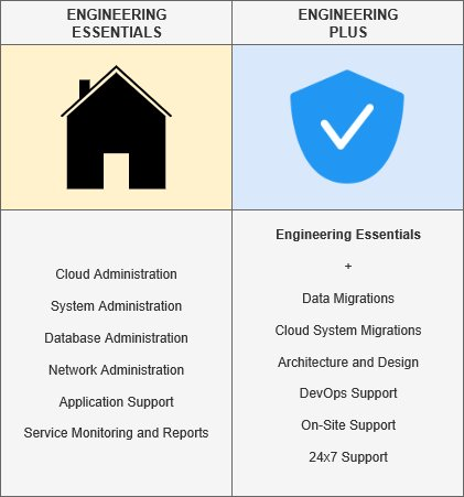 COSTANSIN Managed Services engineering tiers